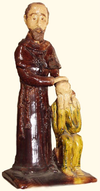 Naczynia ifigurki wyrabiane wChałupkach
